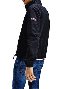Chaqueta Tommy Jeans Essential Bomber Negro