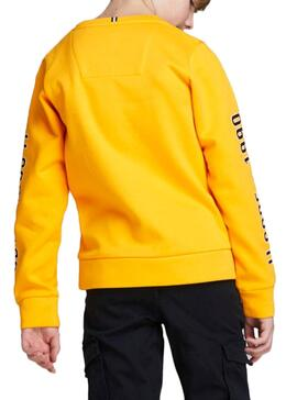 Sudadera Jack and Jones Covictor Amarillo Niño