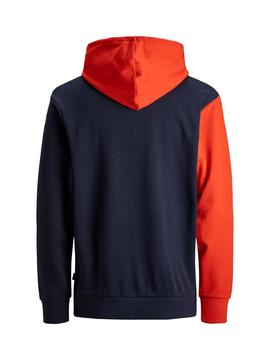 Sudadera Jack and Jones Sweat Colourblock Niño