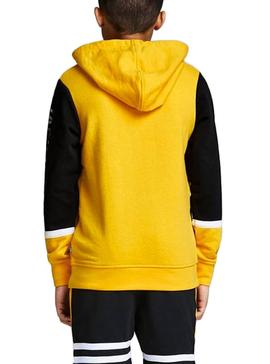 Sudadera Jack and Jones Blair Amarillo Niño