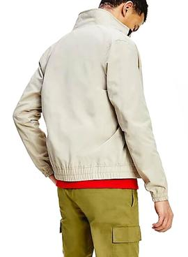 Chaqueta Tommy Jeans Casual Bomber Beige Hombre