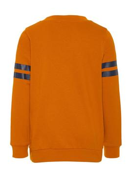 Sudadera Name It Champion Naranja