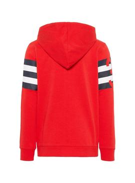 Sudadera Name It Dain Rojo Niño