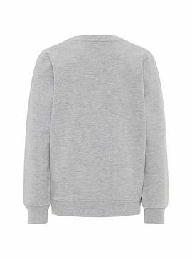 Sudadera Name It Barur Gris Niño
