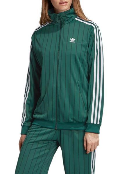 nuevo estilo 8f7a7 b62fa Chaqueta Adidas Track Verde Mujer