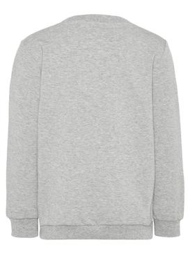 Sudadera Name It Monstruo Gris