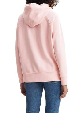 Sudadera Levis Graphic Hoodie Rosa Mujer