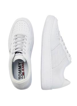 Zapatillas Tommy Hilfiger Reflective Basket Blanco