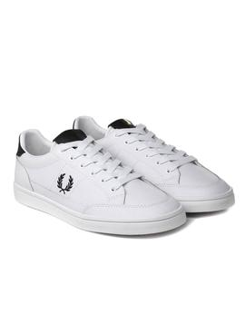 Zapatillas Fred Perry Deuce Leather Blanco Hombre