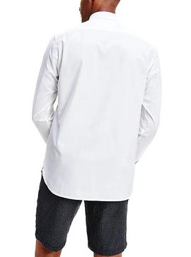 Camisa Tommy Hilfiger Natural Soft Blanco Hombre