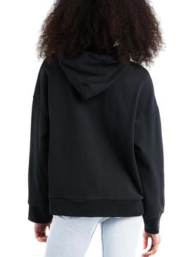 Sudadera Levis Hoodie Mickey Mouse Negro Mujer