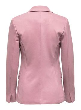 Blazer Only Pinko Vika Fitted Rosa Para Mujer