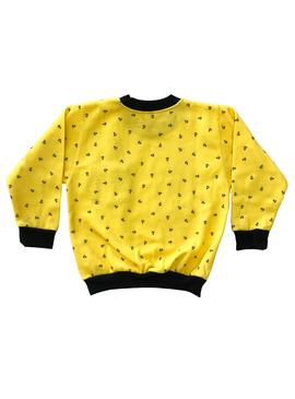 Sudadera Rompiente Clothing Mini Anchor Amarillo