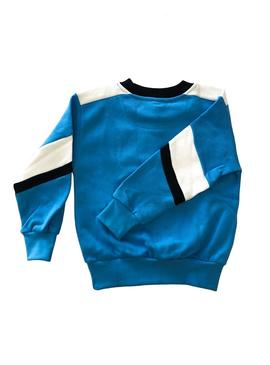 Sudadera Rompiente Clothing Rocket Azul Kids