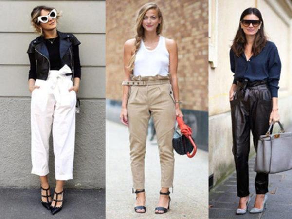 Pantalones Paper Bag Y Como Usarlos Lolita Moda