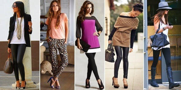 1bd184392 Logra un look formal usando leggins | Lolita Moda